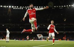 Arsenal 1-0 West Brom: Giroud tỏa sáng, Pháo thủ vượt khó