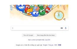 Google thay áo chờ đón năm mới 2017