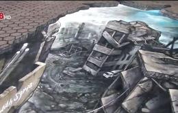 Trưng bày tranh 3D về cuộc chiến tại Syria