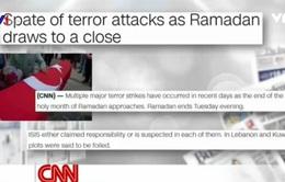 Thế giới rung chuyển bởi hàng loạt vụ đánh bom khủng bố