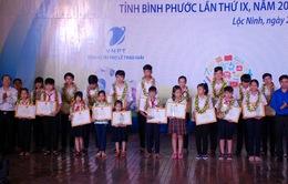 Vinh danh 42 giải thưởng sáng tạo thanh thiếu niên, nhi đồng tỉnh Bình Phước