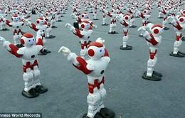 Hơn 1.000 robot nhảy múa lập kỷ lục thế giới ở Trung Quốc