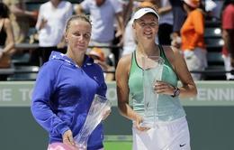 Azarenka đăng quang Miami Open sau Indian Wells: Sánh ngang Steffi Graf và Kim Clijsters