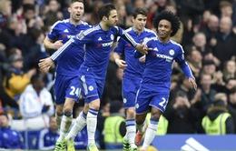 Fabregas lập cú đúp, Chelsea hút chết trước West Ham