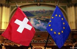 Quốc hội Thụy Sĩ tán thành rút đơn xin gia nhập EU
