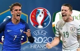 Thống kê đáng chú ý trước trận Pháp – CH Ireland