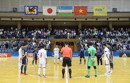 Futsal Việt Nam mở màn thất bại trên đất Nhật