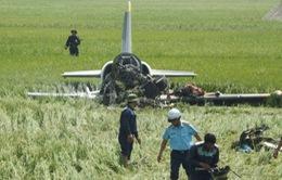 Thăng quân hàm thiếu úy cho học viên phi công Phạm Đức Trung