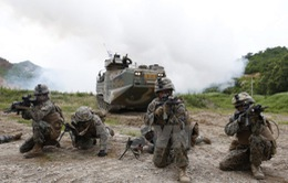 Lính thủy đánh bộ Hàn Quốc và Mỹ tập trận chung