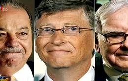 """5 tỷ phú giàu nhất thế giới """"bốc hơi"""" 8,7 tỷ USD ngay đầu năm 2016"""