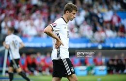 EURO 2016 và sự vô duyên của Thomas Muller