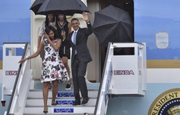 Cháy hàng váy hoa phu nhân Obama mặc khi đến Cuba