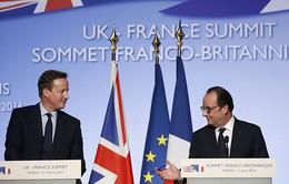 Hội nghị Thượng đỉnh Anh - Pháp chú trọng tới khủng hoảng tị nạn