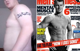 Giảm béo ngoạn mục, chàng trai Australia trở thành người mẫu