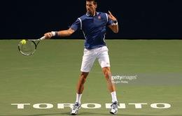 Vòng 3 Rogers Cup 2016: Lấy lại phong độ, Djokovic thắng dễ Stepanek