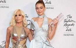 Gigi Hadid nhận giải người mẫu nổi bật nhất năm