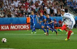 VIDEO EURO 2016: Sterling kiếm phạt đền, Rooney ghi bàn mở tỉ số