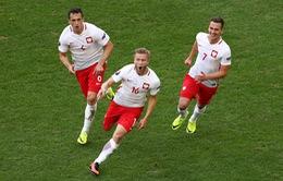 VIDEO EURO 2016: Blaszczykowski tỏa sáng, Ba Lan giành vé đi tiếp