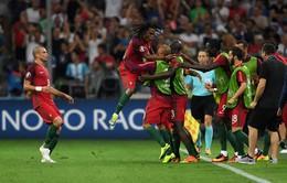VIDEO EURO 2016, Ba Lan 1-1 (pen 3-5) Bồ Đào Nha: Sanches tỏa sáng, Ronaldo vô duyên đến khó tin