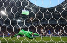 VIDEO EURO 2016: Griezmann phô diễn kỹ thuật khiến hàng thủ ĐT Đức chao đảo