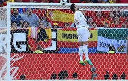 VIDEO EURO 2016: Xem lại pha lốp bóng kỹ thuật và đẳng cấp của Rakitic qua công nghệ Goal-line