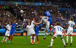 VIDEO EURO 2016: Pogba đánh đầu dũng mãnh ghi bàn cho ĐT Pháp