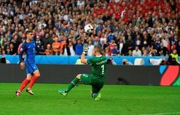 VIDEO EURO 2016: Pha lốp bóng kỹ thuật và tinh tế của Griezmann vào lưới Iceland