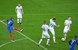 VIDEO EURO 2016: Payet sút xa chéo góc ghi bàn đẹp mắt