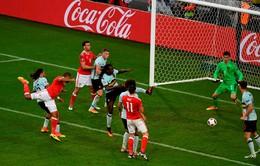 VIDEO EURO 2016: Ashley đánh đầu dũng mãnh, gỡ hòa cho Xứ Wales