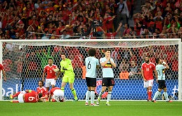 VIDEO EURO 2016: Tình huống cứu thua khó tin của hàng thủ Xứ Wales