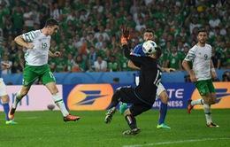 EURO 2016, Italia 0-1 CH Ireland: Thắng lợi quan trọng