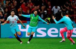 VIDEO EURO 2016: Thắng ấn tượng CH Czech, Thổ Nhĩ Kỳ nuôi hy vọng đi tiếp