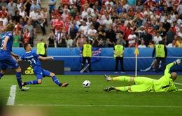 VIDEO EURO 2016, Iceland 2-1 Áo: Thắng kịch tính, Iceland giành ngôi nhì bảng F