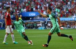 VIDEO EURO 2016: Ronaldo đánh gót tuyệt đỉnh, tung lưới ĐT Hungary