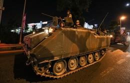 Thổ Nhĩ Kỳ hỗn loạn trong vụ đảo chính
