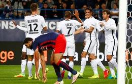 Caen 0-6 PSG: Cavani giải cơn khát bàn thắng!