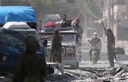 """Lực lượng IS bị """"quét sạch"""" khỏi một thị trấn của Syria"""