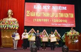Kon Tum kỷ niệm 25 năm tái lập tỉnh