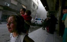 UNICEF: Tất cả trẻ em ở Syria đều bị thương tổn