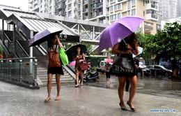Bão Aere gây ra mưa lớn ở các tỉnh miền Nam Trung Quốc