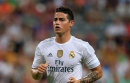James Rodriguez đòi rời Real Madrid nhưng chưa biết đi đâu