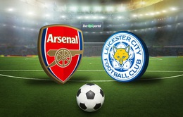 Đội hình xuất phát của Arsenal có giá trị gấp 7 lần Leicester City