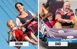 """Sự khác biệt """"một trời, một vực"""" khi bố và mẹ chăm con"""