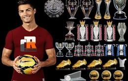 Nhìn lại những trận chung kết trong sự nghiệp của Cristiano Ronaldo