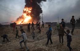 IS giết hàng trăm người, tuyển dụng trẻ em quanh Mosul