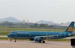 Máy bay Vietnam Airlines hạ cánh khẩn cấp do hỏng lốp