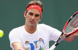 Vòng 2 ATP Miami Open: Federer rút lui vì viêm dạ dày