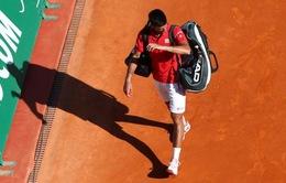 Djokovic bất ngờ bị loại ngay ngày ra quân tại Monte Carlo Masters