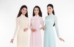 Top 3 Hoa hậu Việt Nam 2016 tỏa hương sắc trong trang phục áo dài