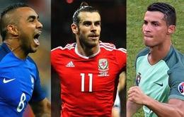 Top 5 bàn thắng đẹp nhất vòng bảng EURO 2016: Gọi tên Payet, Ronaldo